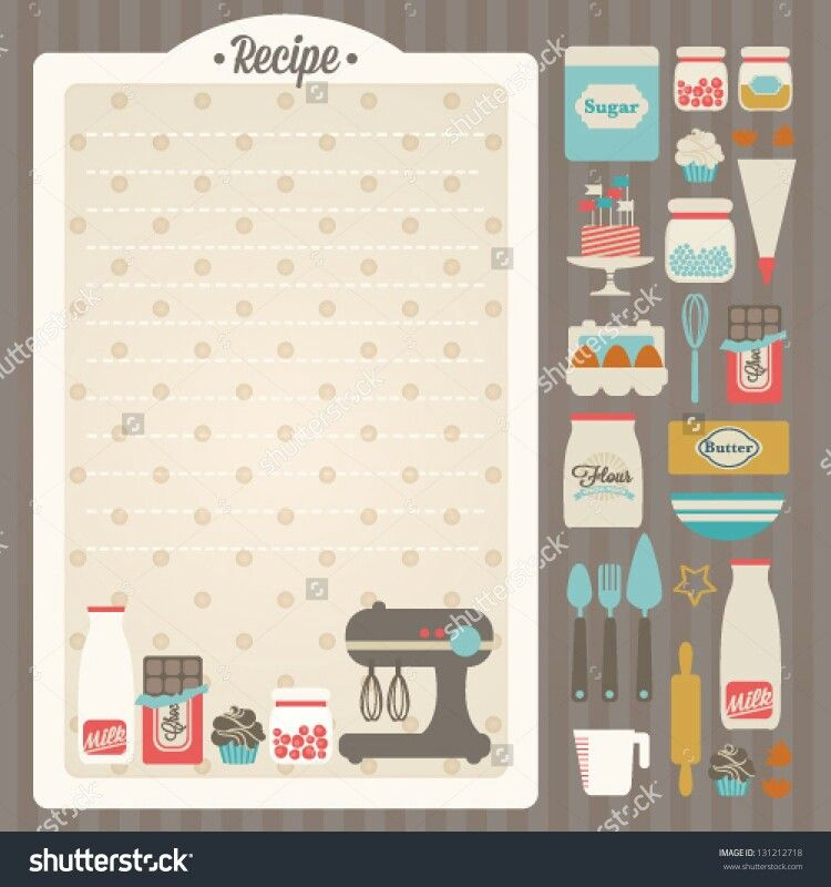 Pin von Laura Charnaud auf Food - Recipe Templates   Pinterest