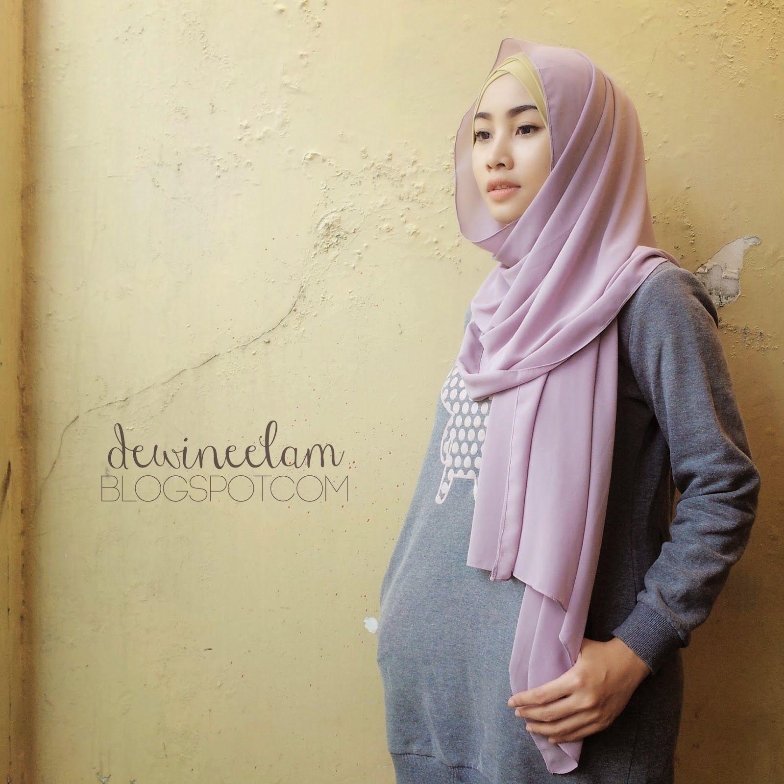 Dewi Neelam By Irna MY DAILY HIJAB STYLE Hijab Style Pinterest