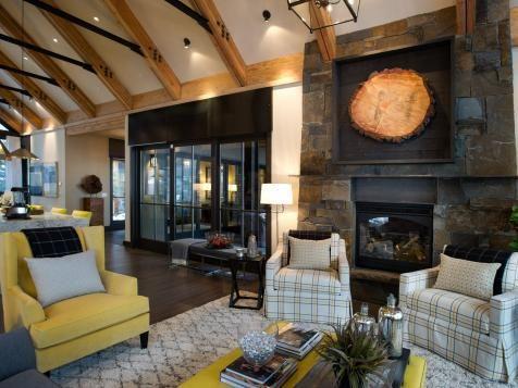 HGTV Dream Home 2014 Living Room | HGTV