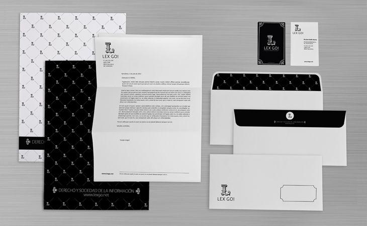 Imagen corporativa y papelería de Binocular Studio.