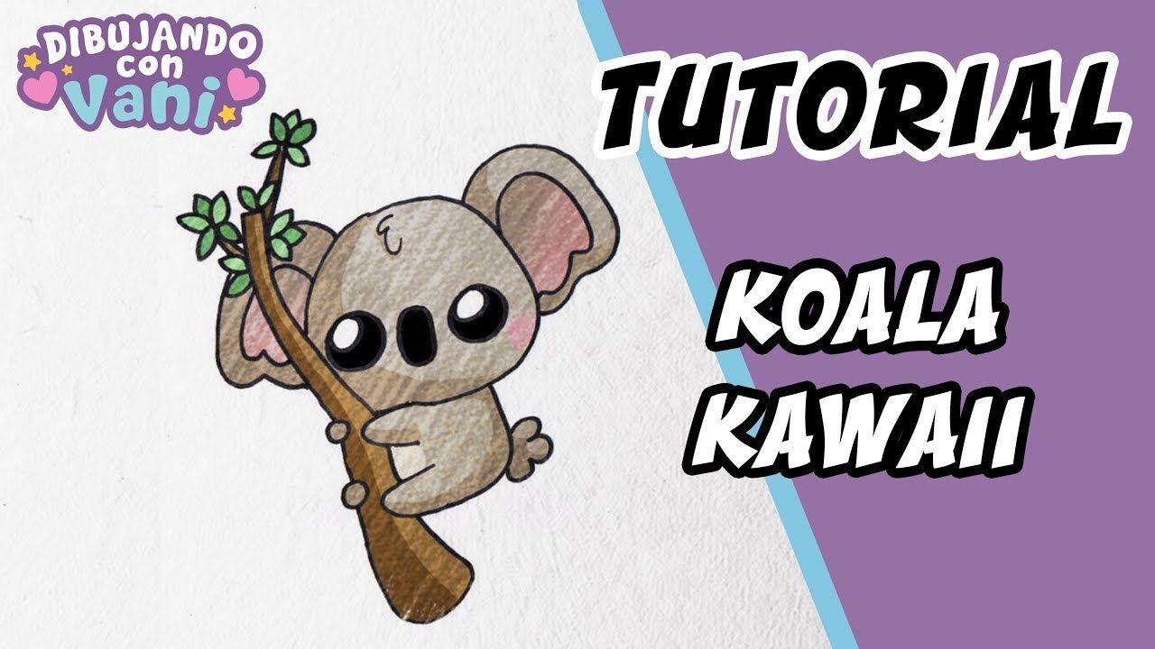 Como Dibujar Un Koala Kawaii Dibujos Faciles Paso A Paso Draw A Kawa Koala Kawaii Dibujo Paso A Paso Como Dibujar