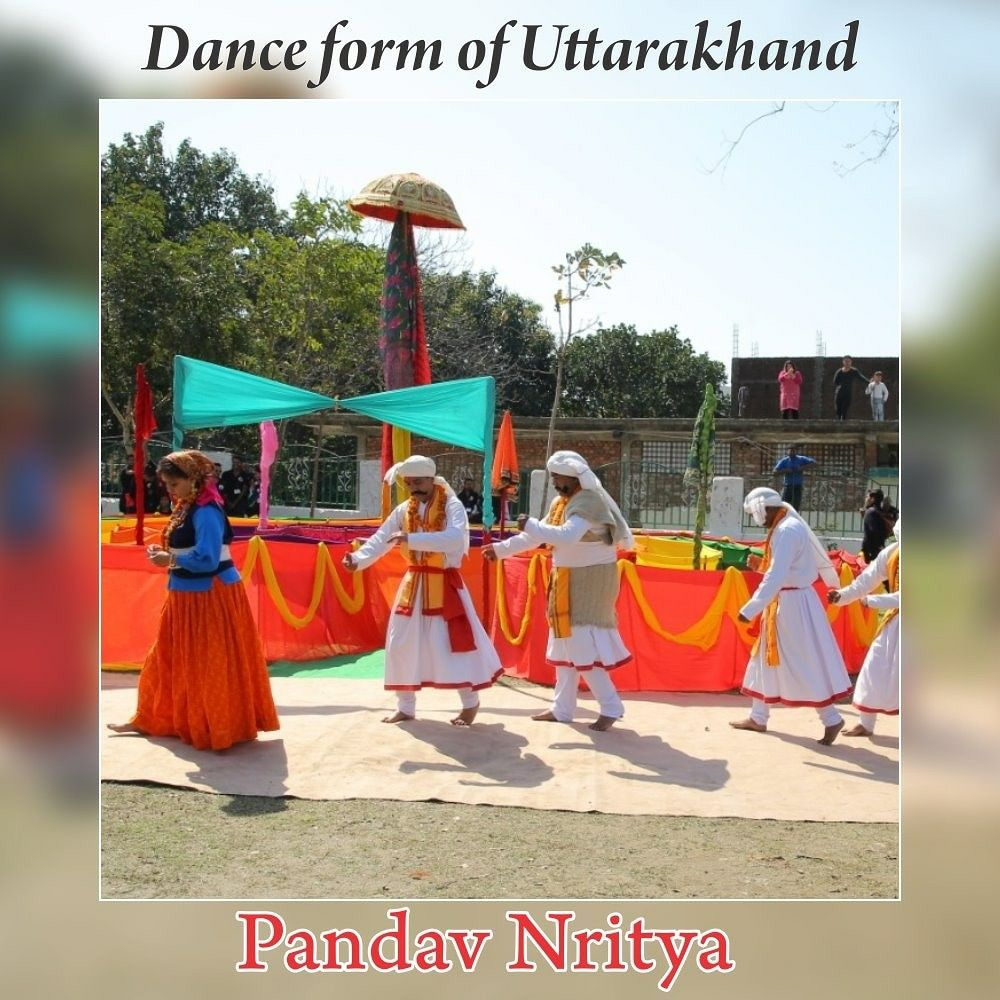 Pandav Nritya Is One Of The Most Famous Dance Forms Of Pauri Garhwal And Chamoli Districts Of Uttarakhand It Can Be Tracke Hindu Festivals Uttarakhand Tourism