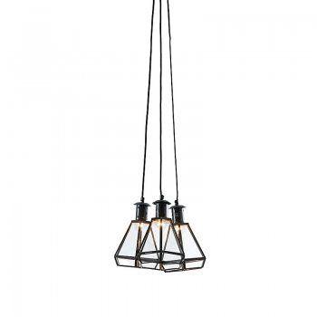 hanglamp laforma owens hanglamp glas en metaal wonen design