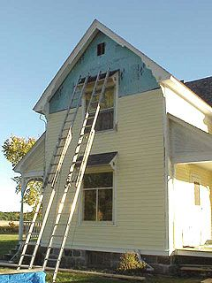 Replacing Old Wood Siding And Trim With Low Maintenance Materials