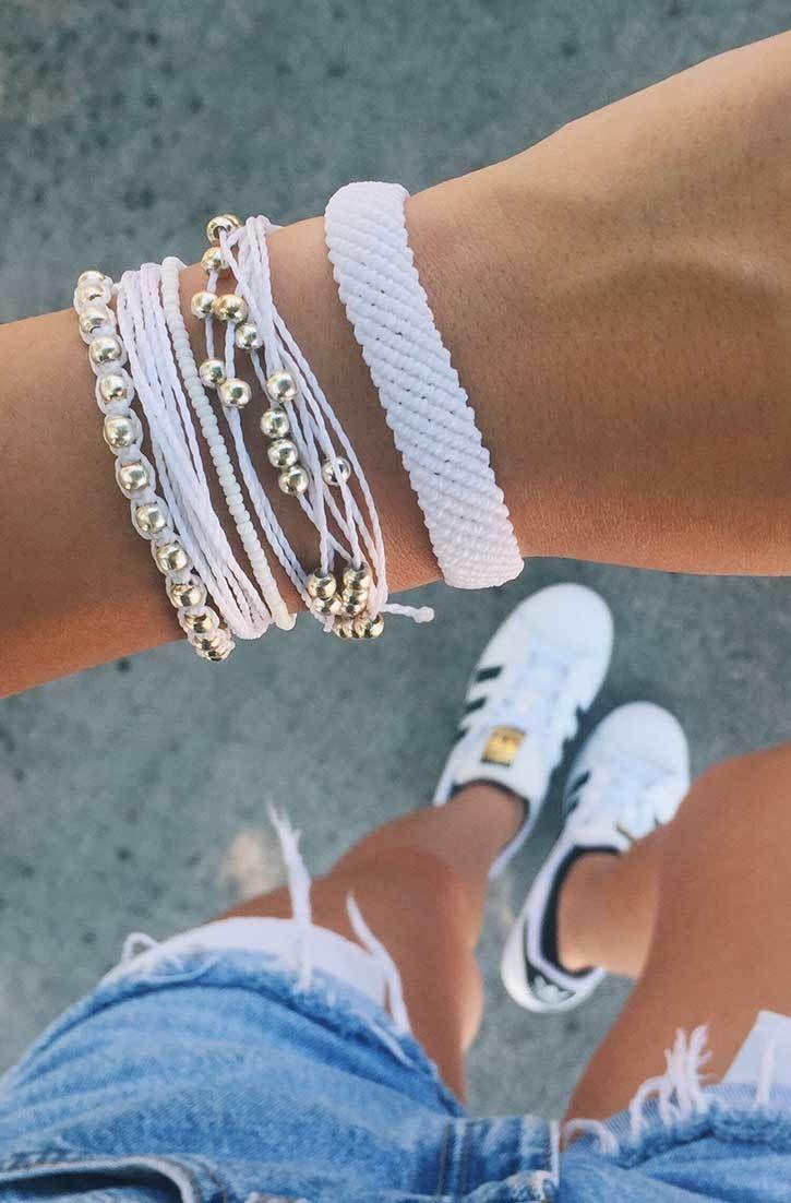 Pearly Whites | Pura Vida Bracelets