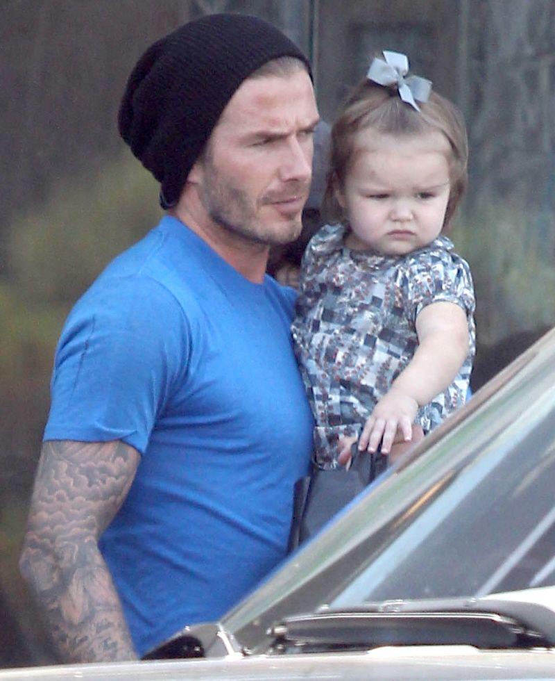 David Beckham | David beckham The beckham family Cute ...