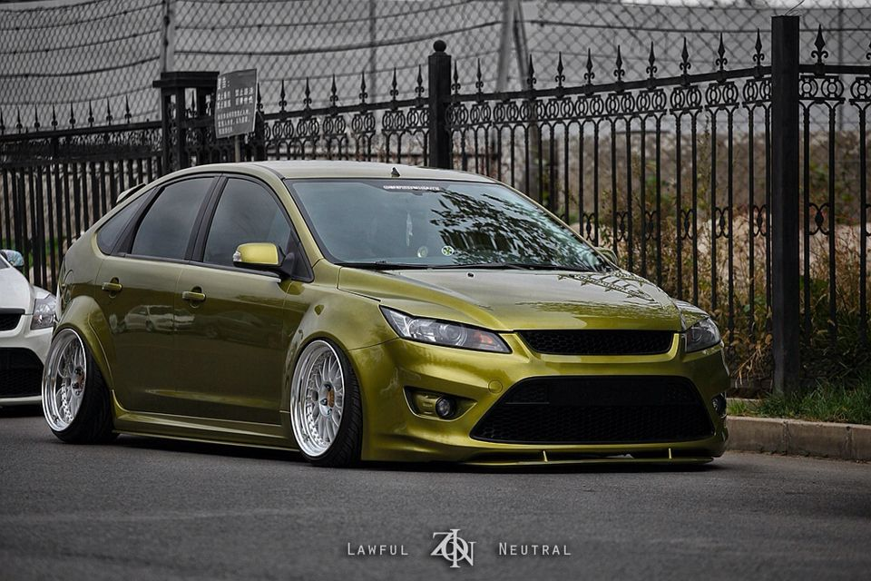 Heavy Modified Ford Focus Mk2 St Ford Focus Ford Focus St Ford