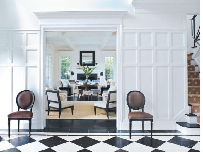 Like The Wall Paneling Hamptons House Home Interior Deco