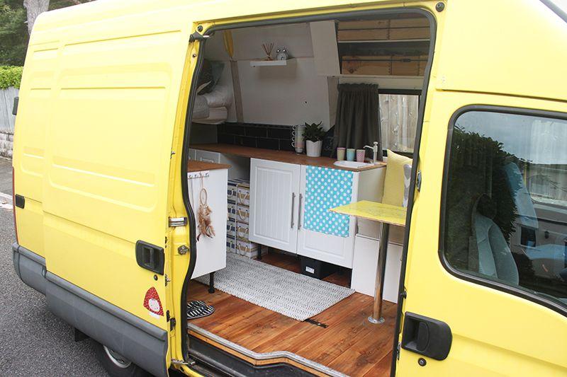 Van conversion motorhome interior design decoration for Wohnmobil innendesign