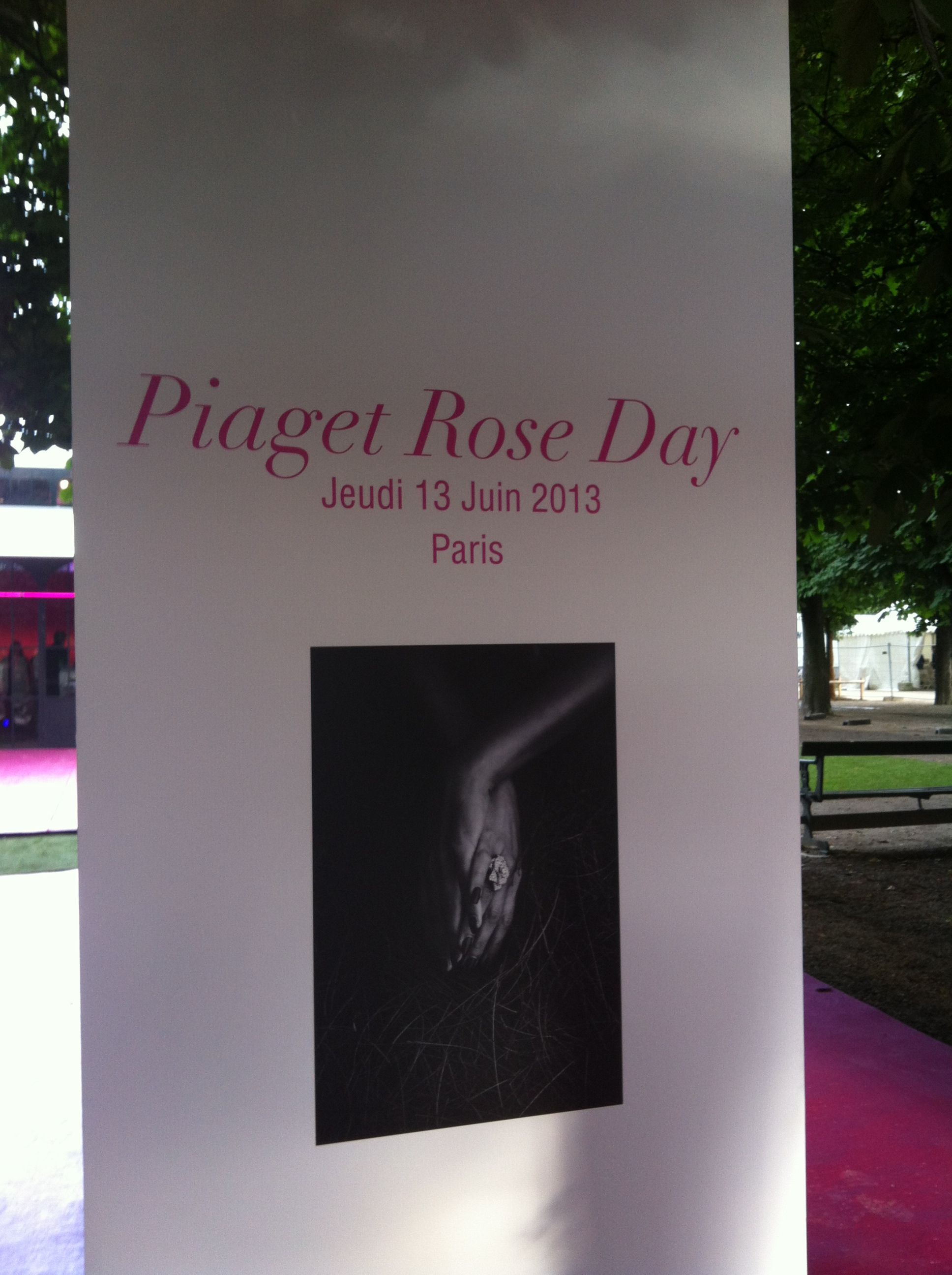 The Piaget Huewe Event Is About To Start To Celebrate Piagetroseday Graphic Designer Job Design Jobs Graphic Design
