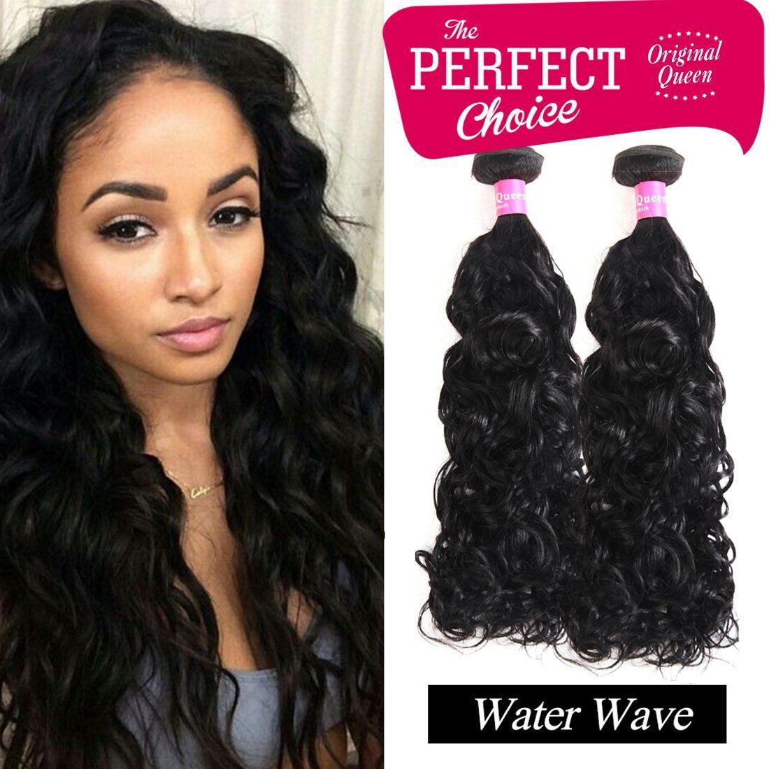 Original Queen Brazilian Water Wave Virgin Hair 100 Human Hair