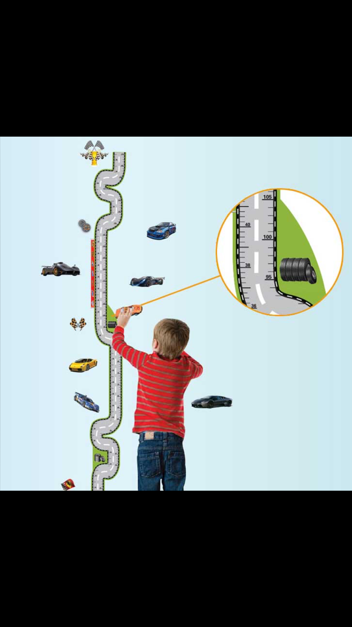 Pin by suzi eaton on sunday school faith grows here pinterest kappier race cars with tracks height measurement growth chart removable wall decals geenschuldenfo Gallery