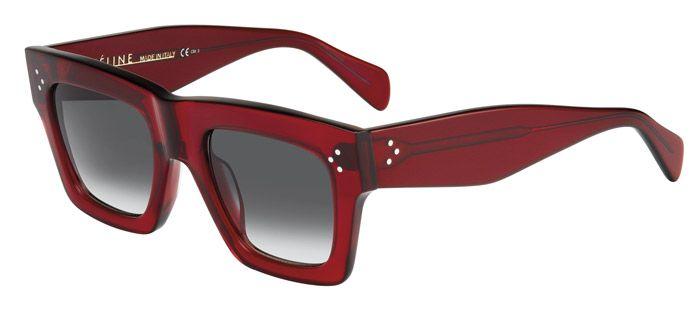 620294c59d59 Celine Eyeglasses for unisex cl 41054\/s - CR3 (TRANSP RED\/GREEN  DEGRADE'), Designer Sunglasses Caliber 50
