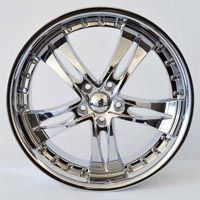 "MODEL : Krypton-0 RIM SIZE : 20"" x 7 1/2"" RIM ET : 38 RIM HOLE : 5 x 114.3 RIM HUB : 73.1 COLOR : CHROME PRICE : 173.06 $"
