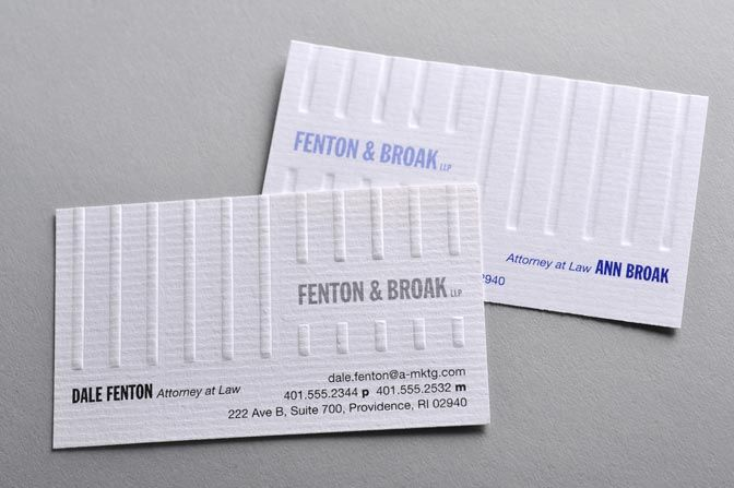 Simple embossed business cards with flat ink blind embossing simple embossed business cards with flat ink blind embossing business card design ideas reheart Images