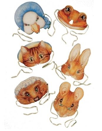 Beatrix Potter - Party Masks