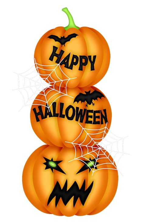 HALLOWEEN PUMPKINS CLIP ART Herbst halloween, Halloween deko