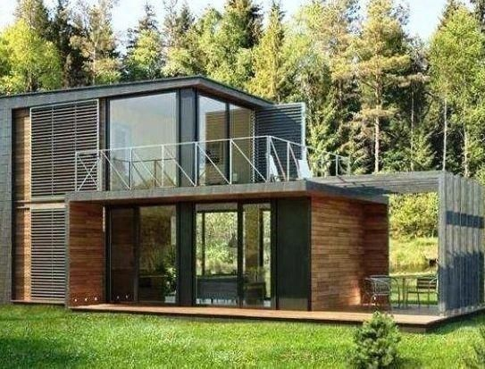 51 Stunning Modern Container House Design Ideas For Comfortable Life Every Day 5 Justaddblog Co Small House Design Modern House Design Container House Design