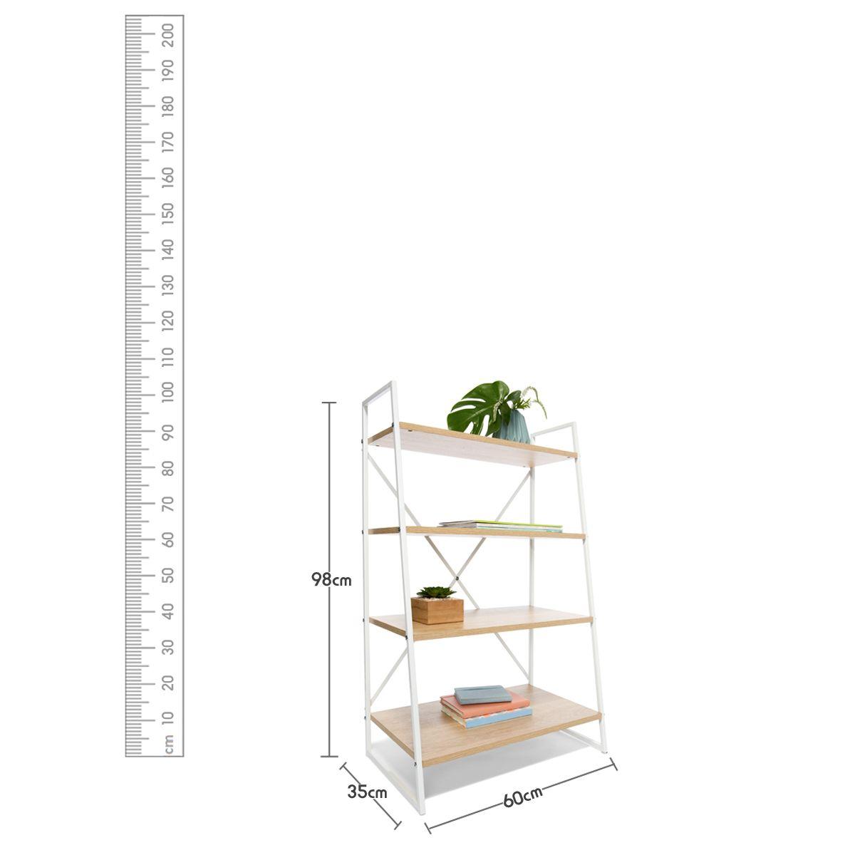 Scandi Ladder Bookshelf For the Home Pinterest Ladder bookshelf