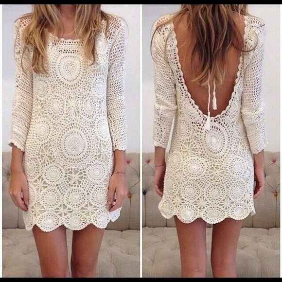 Vestido | Modas adulta | Pinterest | Vestiditos, Tejido y Vestidos ...