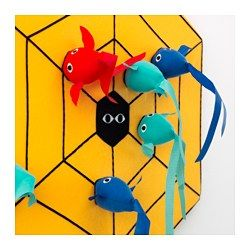 IKEA - LATTJO, Dart game, Trying to hit targets helps develop a child's ability to estimate distances and coordinate movements.
