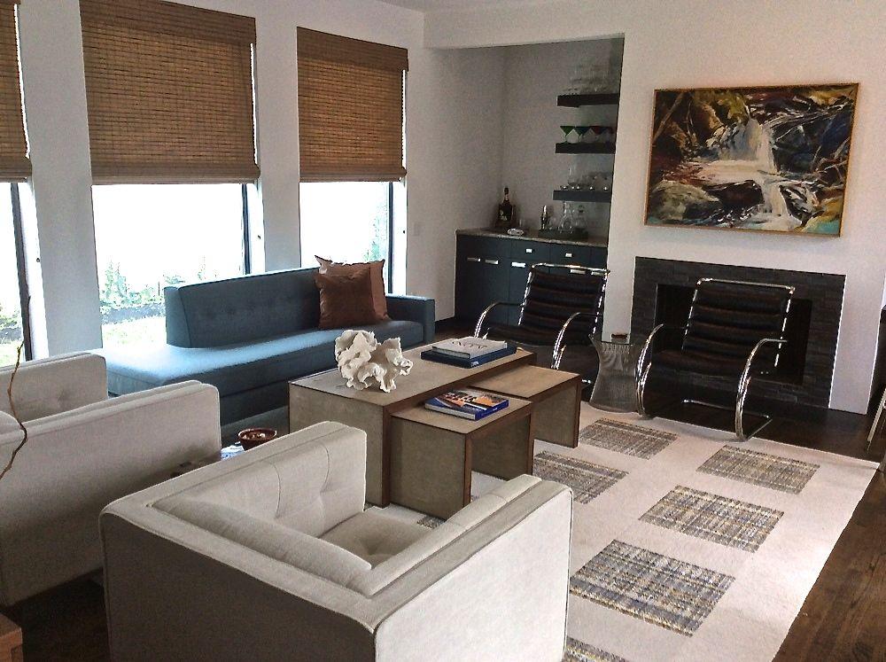 Nice Grid Design #myflor Designer: Hunter Martin Interiors Www.flor.com
