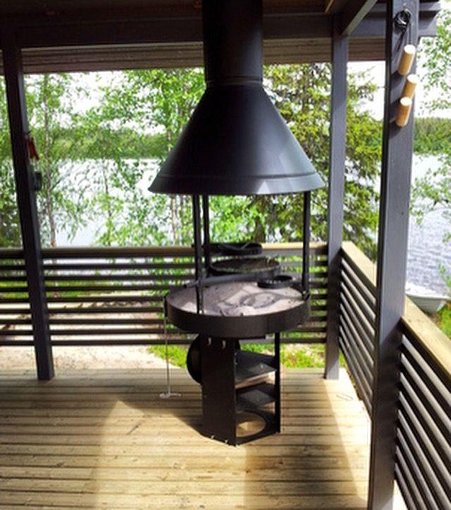 Металлические финские барбекю электрические камины дома
