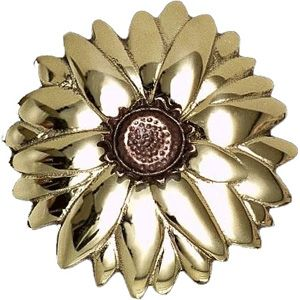 Michael Healy Sunflower Brass/Bronze Door Knockers from Cabinet Knobs and More