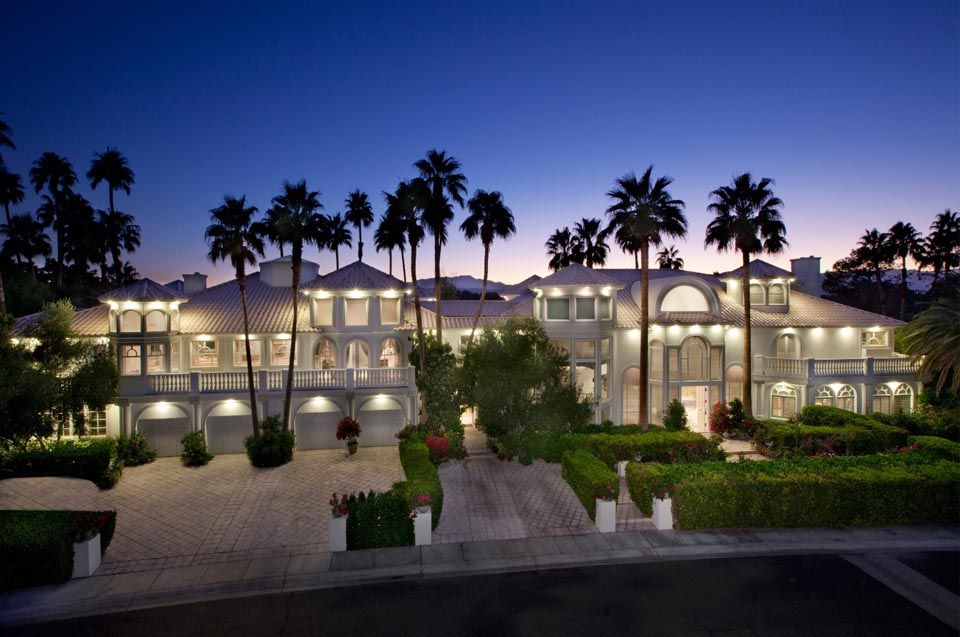 Vegas mansion mansions estates and beautiful homes for Las vegas estates for sale
