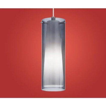 Amazon.com : EGLO 90304A Pinto Nero Mini Pendant, Matte Nickel : Ceiling Pendant Fixtures : Lamps & Light Fixtures