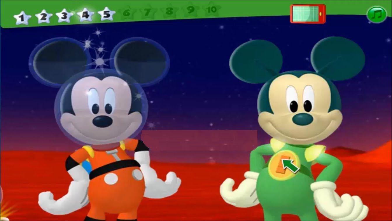 La casa de mickey mouse en espa ol adventuras en el espacio mickey mouse clubhouse - Youtube casa mickey mouse ...