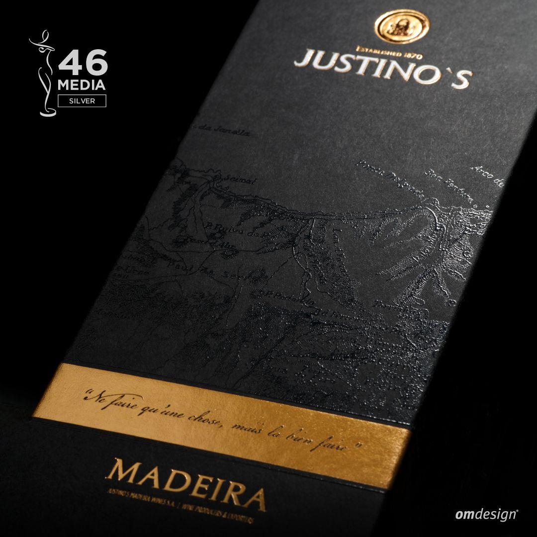 Packaging premium Justino's Madeira Wines (2016)  #Omdesign #Design #Portugal #LeçadaPalmeira #Since1998 #AwardedAgency #DesignAwards #WinePackaging #PackagingDesign #Justinos #JustinosMadeiraWines #VinhodaMadeira #MadeiraWine #IVBAM #PortugueseWines #Awards #InternationalDesignAwards #GraphisAwards #MuseAwards #IAAAwards #Creativity #SilverAward #SilverWinner