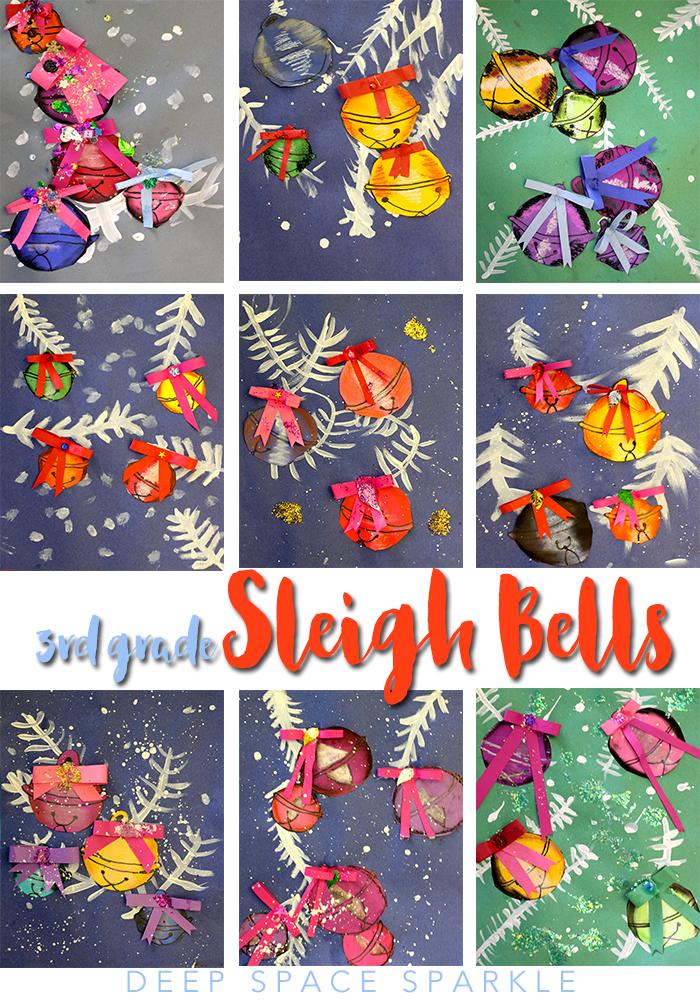 Christmas Art Ideas For 3rd Grade