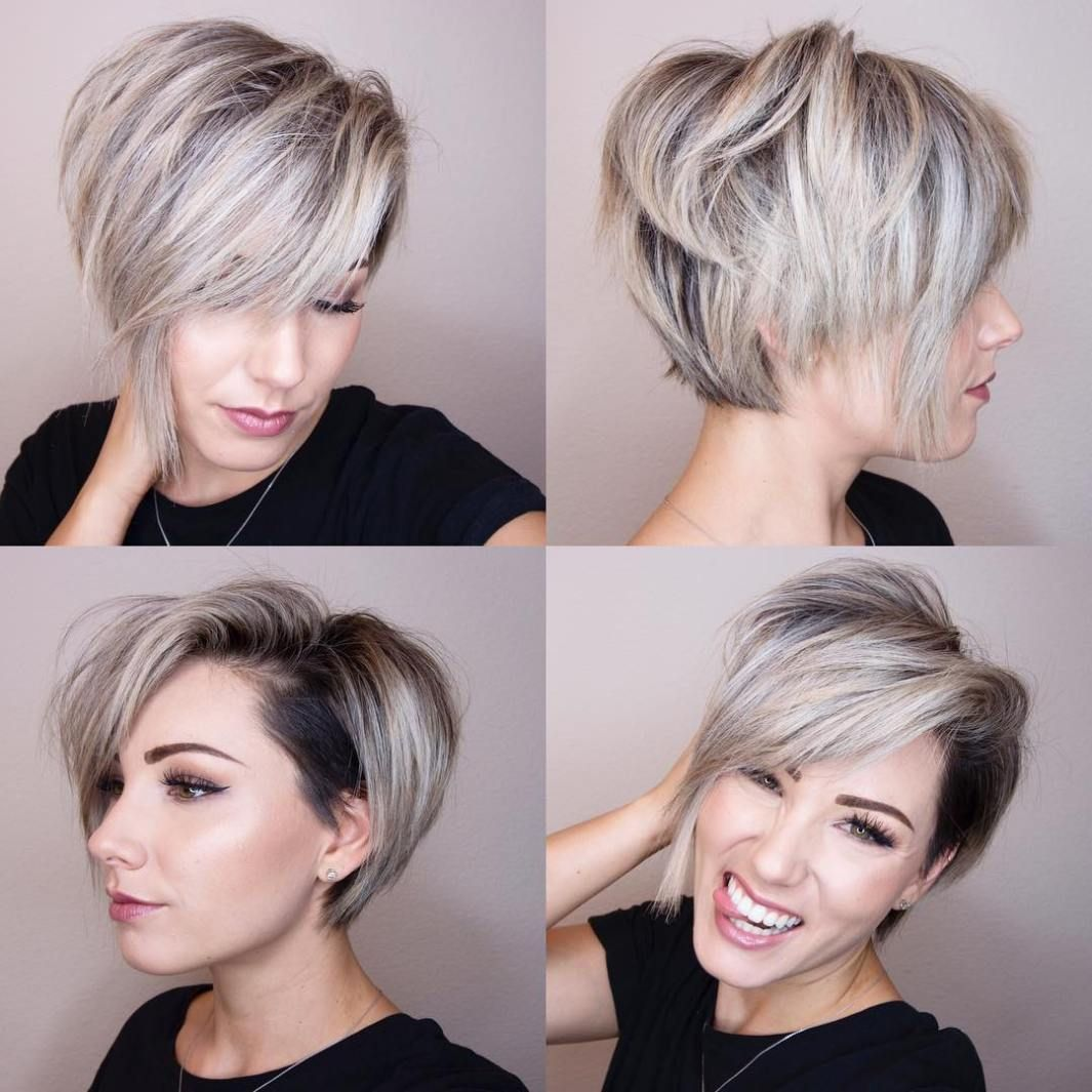 pin on hair: short hair don't care
