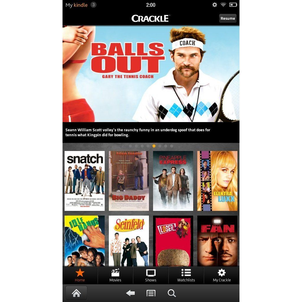 Crackle FREE to download app, FREE to watch Watch full