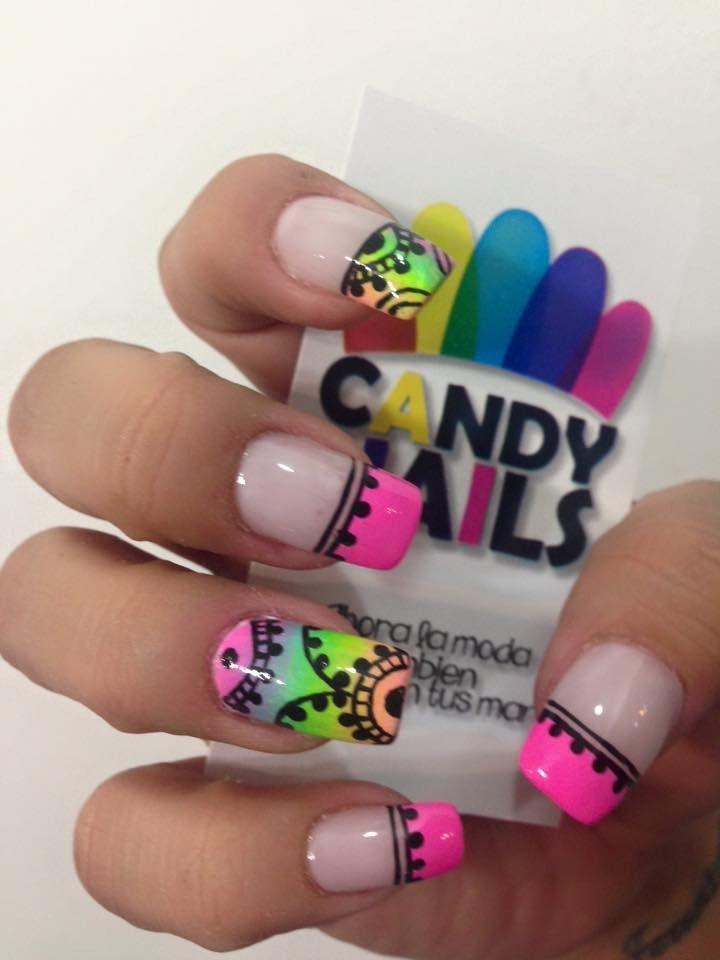 Pin de Erika en decorados | Pinterest | Diseños de uñas, Manicuras y ...