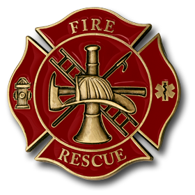 Fire Rescue Maltese Cross Fire Rescue Firefighter Fire