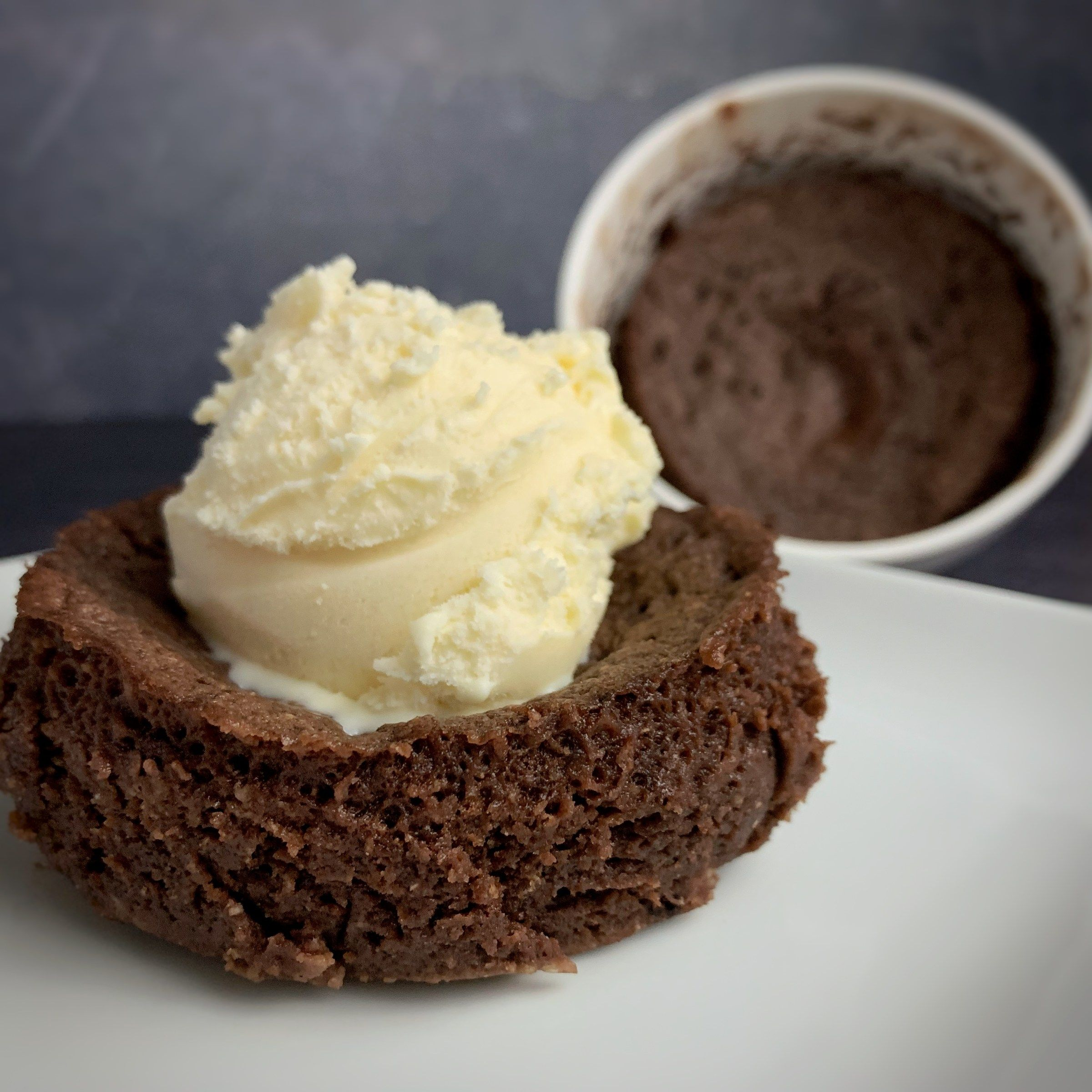 Chocolate protein mug cake a swerve chocolate cake mix