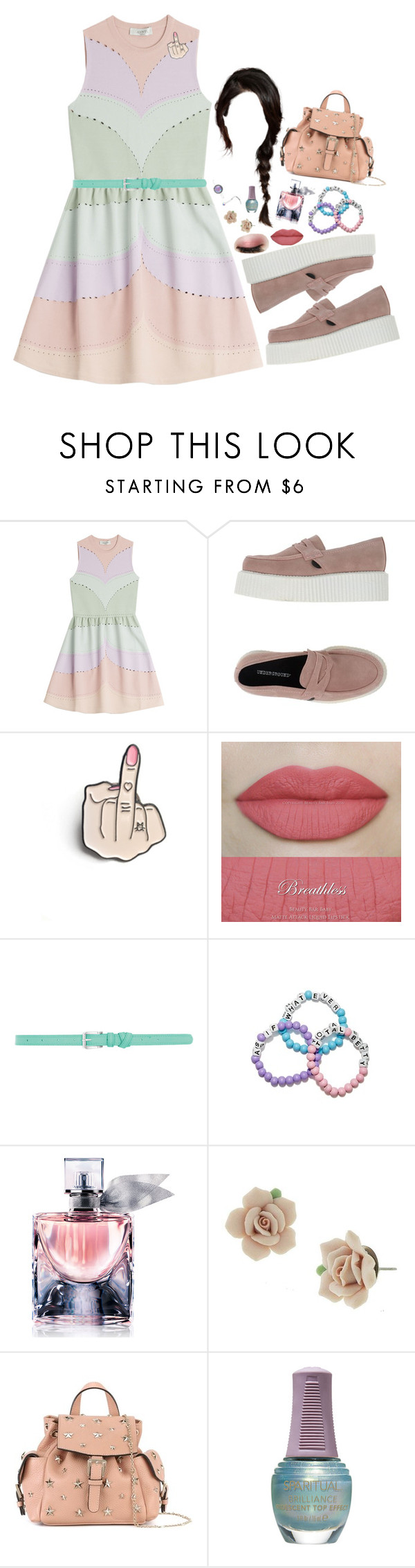 """You take things so hard and then you fall apart"" by oblivionsgarden ❤ liked on Polyvore featuring Valentino, Underground, Dorothy Perkins, Lancôme, 1928, RED Valentino and SpaRitual"