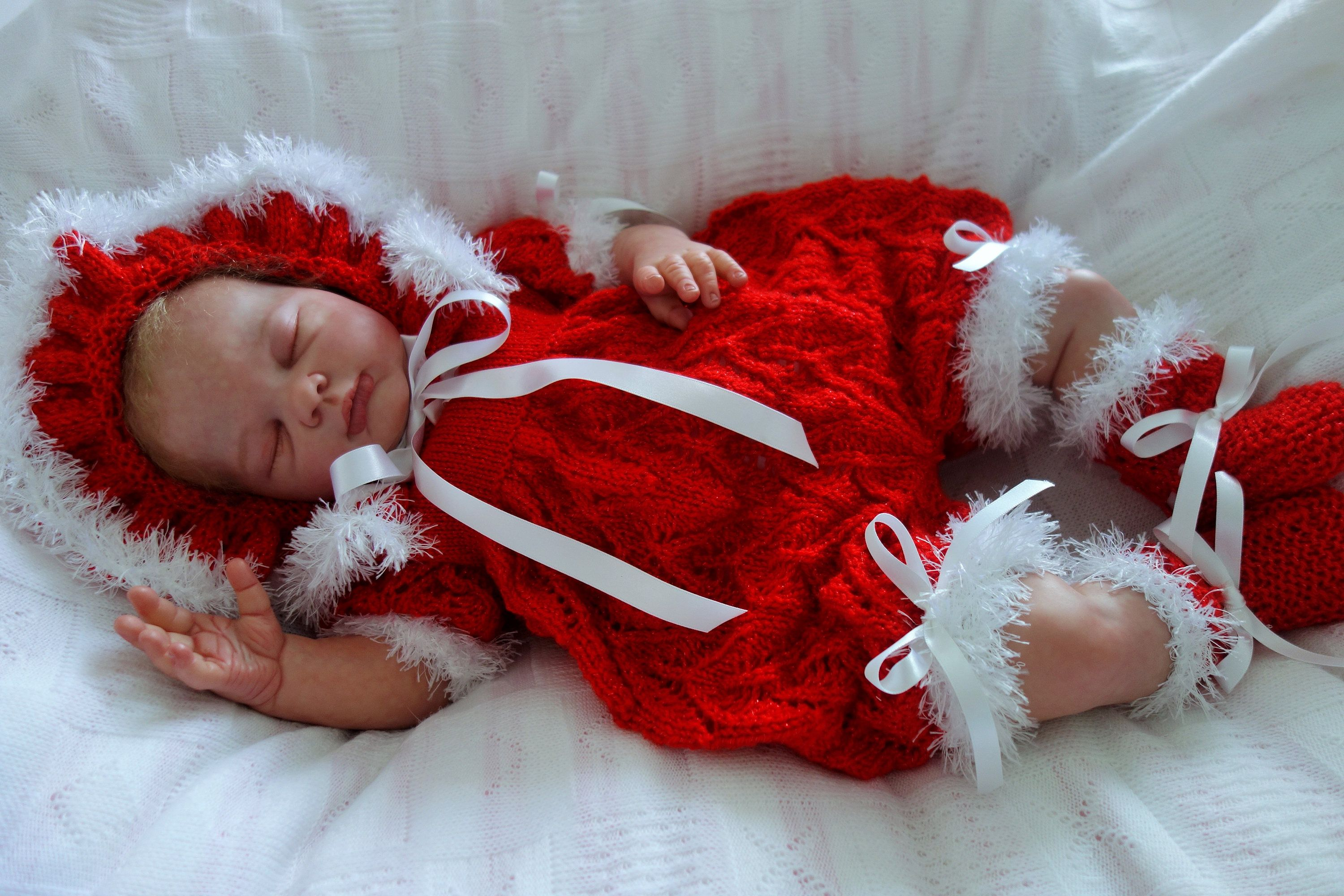 Baby romper set/Christmas outfit/6-6 months/reborn  Etsy