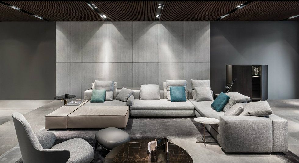 Furniture Design News milan furniture design news: introducing new minotti 2015