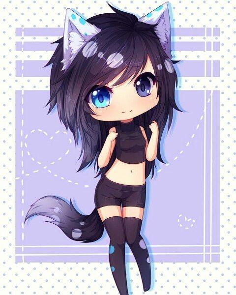 Pin By Amator Silvarum On Anime Anime Wolf Girl Cute Anime Chibi Anime