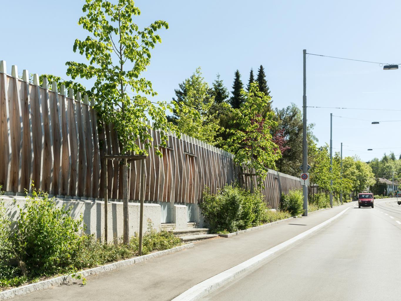 Lärmschutzwand I via hbf.ch Wände, Architektur, Lärmschutz
