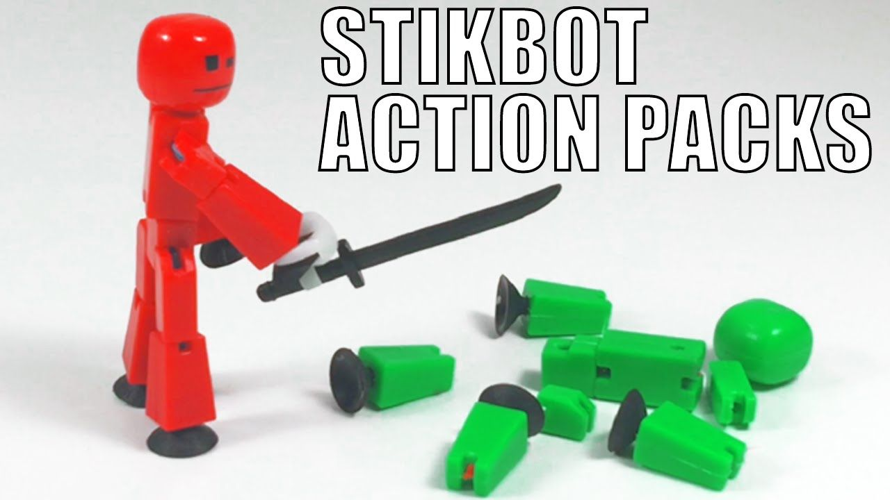 Original stikbot Robot Stop Motion Animation stickbots Figure APP Jouet