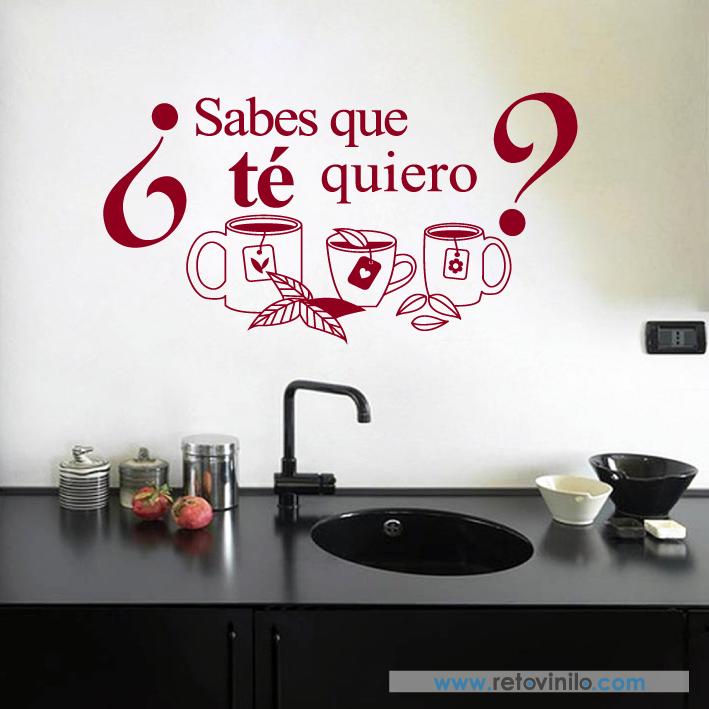 Coffee Shop Comedor Pegatinas de Pared para Té de Cocina Arte Calcomanía Bar