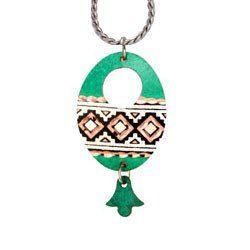 Native Design Patina Necklace