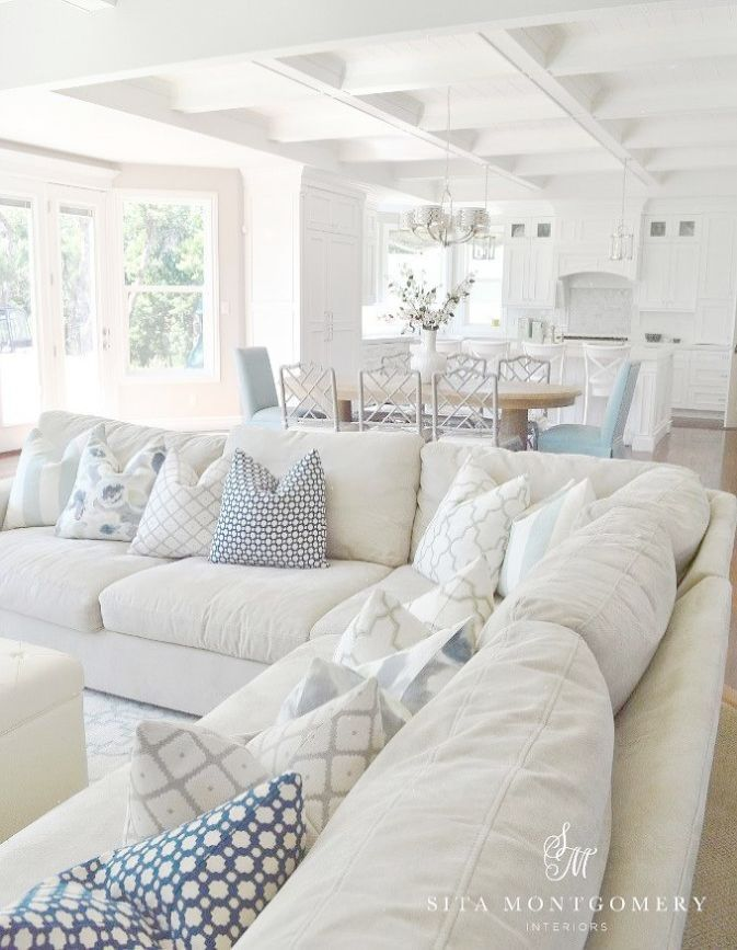 Coastal Style Living Room Ideas Photos Of Beach Style Living Rooms ...