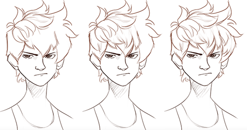 Image result for how to draw male messy hair   How to draw ...
