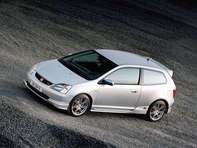 Honda Civic Type R Zeichnungen
