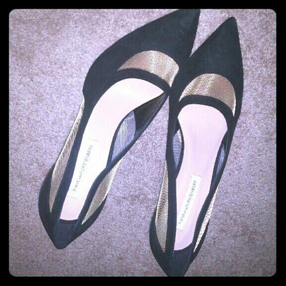 Diane von Furstenberg heels Brand new without box size 8.5 Diane von Furstenberg Shoes Heels